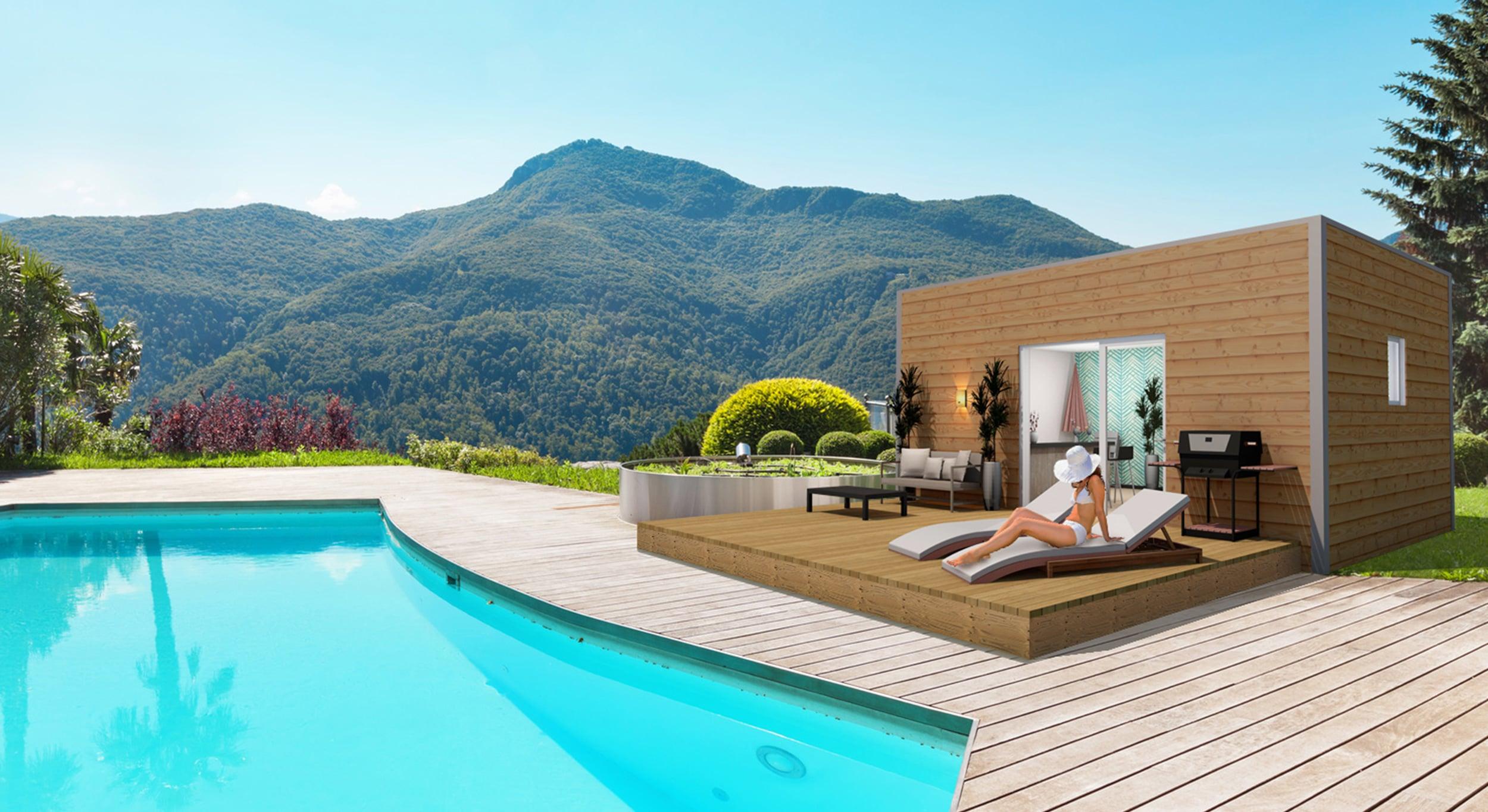 Construire Un Pool House studios de jardin - extensions de maisons